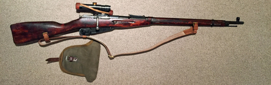 Mosin 91 30 PU sniper Izhevsk 1943