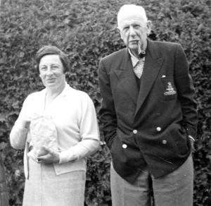 Eleanor HEAKES and Harold H HEAKKES about 1949