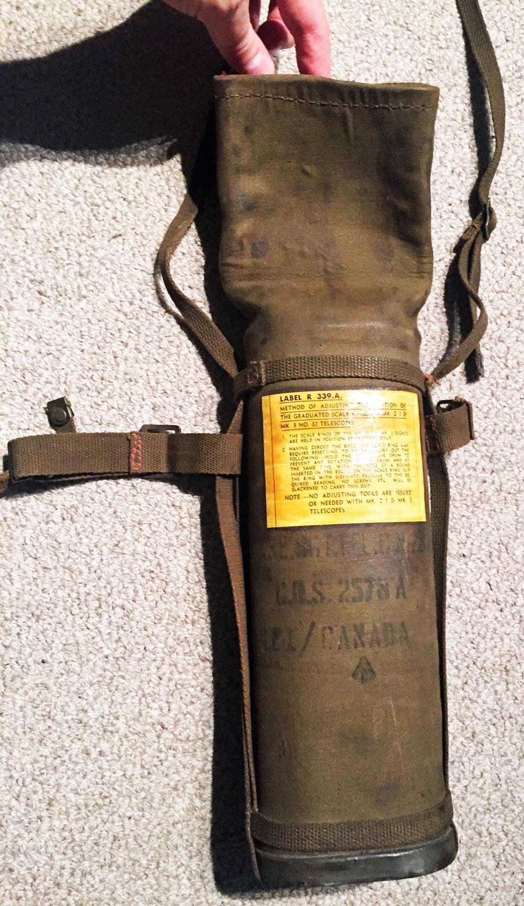 REL CANADA No8 MK2 scope case Colin Stevens Collection (9