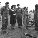 Snipers in Ghillie suits 1 Canadian Parachute Battalion, 3 Parachute Brigade, 6th Airborne Division. Royal Visit in England May 1944 (GTI p52)