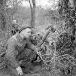 Sniper and dog handler late 1944 no details via Dean Bryan