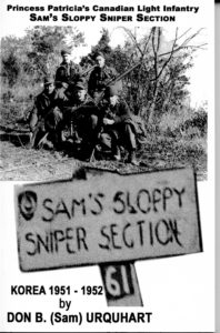 Cover of SLOPPY SAM'S SNIPER SECTION book.