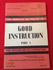 Good Instruction - Part 1