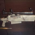 McMillan Bros TAC-50 SN 99GA004 record shot in Afghanistan at CWM 2007