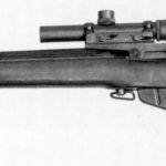C anadian made sniper rifle, left side.