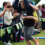 Scandinavian Midsummer Festival 2016-06-19 036 Wife Carrying Contest - Do not fart