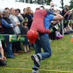 Scandinavian Midsummer Festival 2016-06-19 038 Wife Carrying Contest -They are off