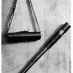 Telescope and its crrying case.