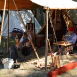 Fort Nisqually Brigade Days 2016 AUG (11) - In camp, at rest.