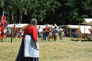 """Fort Nisqually Brigade Days 2016 AUG (30) - Where is dat man 'o mine. I whup his ass good for leaving me with no money!"""""""