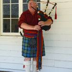 Fort Nisqually Brigade Days 2016 AUG (65) - Colin Barrett, piper.