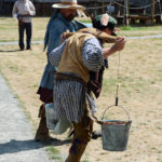 Fort Nisqually Brigade Days 2016 AUG (75) - Carrying water in a race.