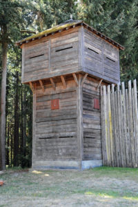 Fort Nisqually Brigade Days 2016 AUG (9) - A bastion of Fort Nisqually.