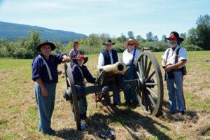 #716 - Union Gun crew - 1st Illinois Light Artillery Regiment Battery A Morgan's.