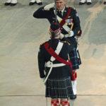 (83) Regimental Sergeant Major (facing camera) and the Commanding Officer.