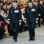 I was able to take photographs of most of the proceedings, so I have lots of pictures that show the Army and the Air Cadets as well as the soldiers.