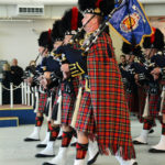 (354) Pipers of the Vancouver Police Pipe Band.