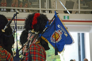 (361) Vancouver Police Pipe Band Pipe Banner.
