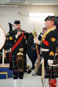 (454) Seaforth Pipe Major and Drum Major