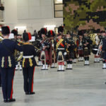 """(469) The massed band """"Finale""""."""