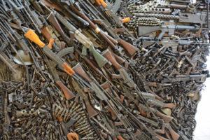 Anti-gun sculpture 1