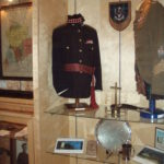 Case 4 - Seaforth Museum - Tunics of Cadet RSM and Regimental Pipe Major.