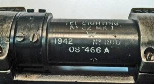 No. 32 MK. I scope serial number 1810.