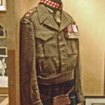 LtCol Cec Merrit VC - One of his original Battledress Blouses from when he commanded the Seaforth Highlanders of Canada 1951-1954