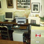 Seaforth Museum office computer desk July 2011