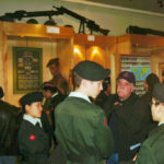 Army Cadets visiting the Museum in 2000.