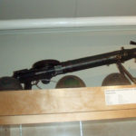 Case 2 top - Seaforth Museum - 2008 Lewis Gun (deactivated)