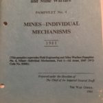 WO 9705 Mines individual-mechanisms. British manual from 1961.