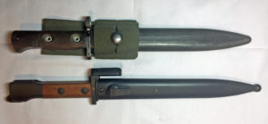FN C1 bayonet on top and FNX2 E1 bayonet at the bottom.