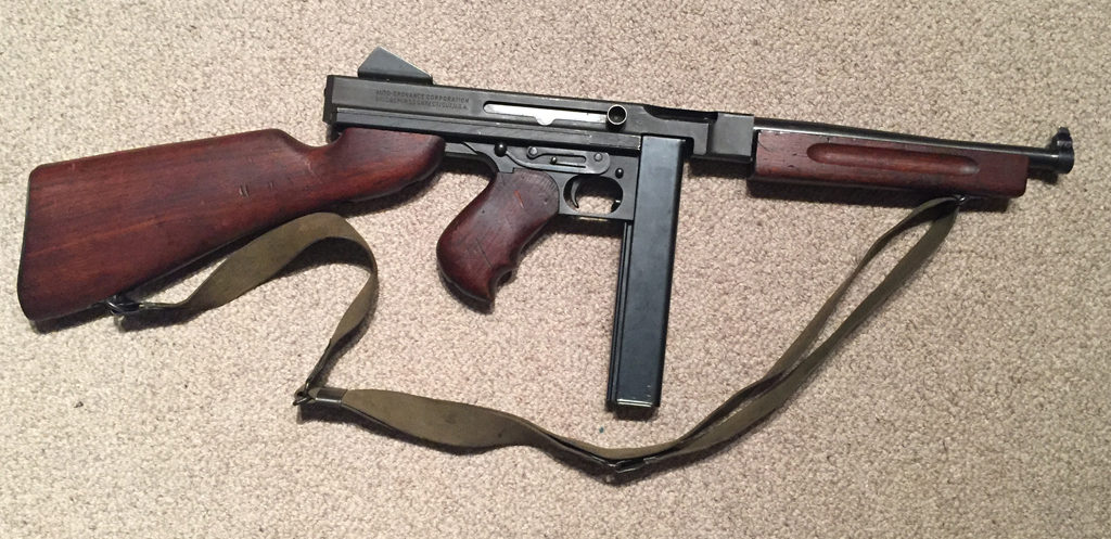 Thompson M1 SMG DEACTIVATED