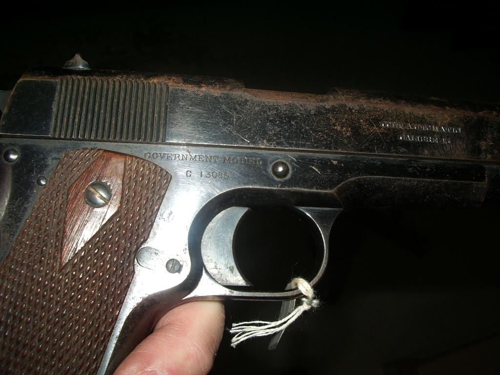 Colt 1911 Cdn Contract & Mills Webbing set NWMA 2006 (3