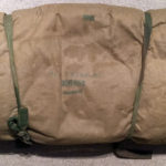 1942 British Airborne Sleeping Bag named Pte ROSS Signaller 3 Para Bde HQ MIA 1944-06-06