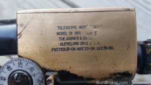 Ross sniper CLONE 300GG W&S scope SN 5