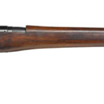Ross sniper rifle with Warner & Swasey 1913 scope Royal Armouries Collection in UK. Right side.