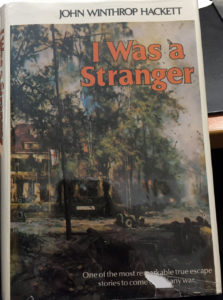 Book I WAS A STRANGER by John Winthrop Hackett