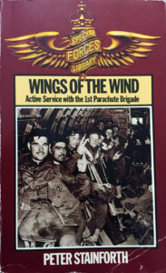Book WINGS OF THE WIND - Active Service with the 1st Parachute Brigade by Peter Stainforth