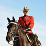 RCMP Musical Ride Officer in 2013