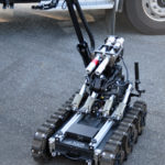 Bomb Disposal robot. Made in Canada.