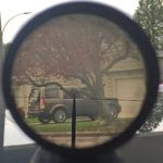 View through the C No. 67 Mk. I scope. It is actually much clearer than the image shows.