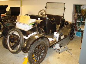 Circa 1922 Ford Model T car.