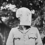 A WWI German sniper s mask made of Krupp steel September 1917 L&AC MIKAN 3397855