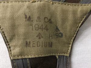 Bren vest 1944 showing markings.