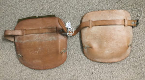 British paratroop knee pads 1942  - Front