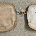 British paratroop knee pads 1942 - Backs