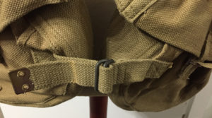 Commando 1944 Vickers K webbing - front waist fastener.