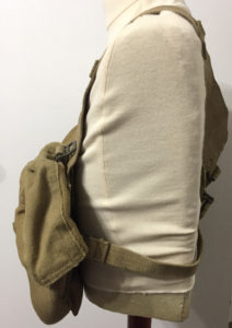 Commando 1944 Vickers K webbing - left side